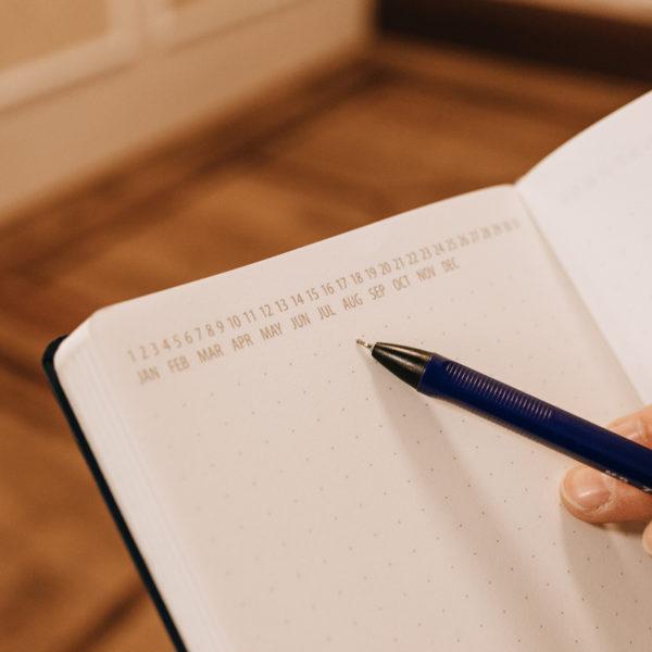 Piezīmju grāmata PRIVATE plan